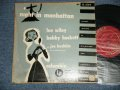 "LEE WILEY and BOBBY HACKETT with JOE BUSHKIN - NIGHT IN MANHATTAN  (Ex/Ex++ Tape Seam) / 1951 US AMERICA ORIGINAL MONO Used 10"" LP"