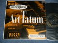 "ART TATUM - PIANO SOLOS VOLUME ONE  ( Ex+++/Ex++ ) / 1950 US AMERICA  ORIGINAL Used 10"" LP"