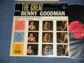 "The BENNY GOODMAN - THE GREAT BENNY GOODMAN ( Ex+/Ex+++ Tape Seam) / 1956 US ORIGINAL ""6 EYES  Label"" MONO Used LP"