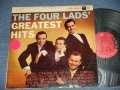 "THE FOUR LADS  - GREATEST HITS Ex/Ex++ STEAROFC, EDSP) / 1958 US AMERICA ORIGINAL  1st Press ""6 EYE'S Label""  MONO Used LP"