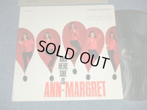 "画像1: ANN-MARGRET - AND HERE SHE IS  ( Ex+++/MINT-) / 1961 US AMERICA ORIGINAL ""PROMO"" STEREO  Used LP"