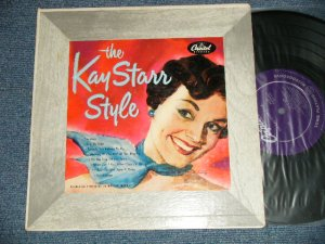 "画像1: KAY STARR - THE KAY STARR STYLE  (Ex+/Ex++ EDSP)  / 1953 US AMERICA ORIGINAL ""PURPLE Label"" MONO  Used  10"" LP"