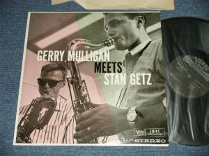 画像1: GERRY MULLIGAN - GERRY MULLIGAN  MEETS STAN GETZ (Ex+++/Ex++ STOL)  /  1961  US AMERICA ORIGINAL  STEREO Used LP