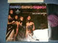 The CLARK SISTERS - SING SING SING! ( POOR/Ex++)  / 1958 UK ENGLAND ORIGINAL MONO Used LP