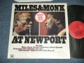 MILES DAVIS & THELONIOUS MONK - MILES & MONK AT NEW PORT (MINT/MINT-)  /  US Reissue 180 glam Heavy Weight  Used LP  Out-Of-Print