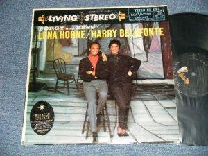 画像1: LENA  HORNE / HARRY BELAFONTE -  PORGY AND BESS ( Ex/Ex+++ Looks:MINT-  EDSP ) / 1959 US AMERICA ORIGINAL STEREO Used  LP