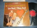 "LES PAUL & MARY FORD  - WARM AND WONDERFUL (Ex+/MINT- STMPOBC, STEAROFC)  / 1962 US AMERICA ORIGINAL ""6 EYES Label"" STEREO Used LP"