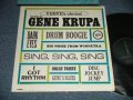 "GENE KRUPA  - VERVE'S CHOICE : THE BEST OF (Ex+++/MINT-  EDSP /   US AMERICA ORIGINAL ""CAPITOL RECORD CLUB Issue""  MONO Used LP"