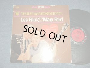 "画像1: LES PAUL & MARY FORD  - WARM AND WONDERFUL (Ex, Ex++/MINT- )  / 1962 US AMERICA ORIGINAL ""6 EYES Label"" STEREO Used LP"
