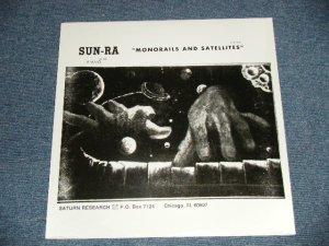 """画像1: SUN RA - MONORAILS AND SATELLITES ( SEALED ) / US AMERICA Reissue """"Brand New Sealed"""" LP"""
