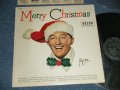 "BING CROSBY - MERRY CHRISTMAS ( Ex++/MINT-) / 1955 US AMERICA ORIGINAL ""BLACK With SILVER PRINT Label""  MONO  Used  LP"