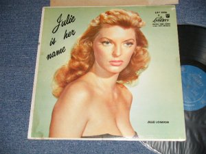 "画像1: JULIE LONDON - JULIE IS HER NAME (DEBUT ALBUM) ( Matrix # A) LRP-3006-1B SIDE-1 H-80P-9800-1B    B) LRP-3006  SIDE 2 1D) (Ex+, Ex/MINT- Looks:MINT-) / 1956 US AMERICA ORIGINAL MONO ""1st Press LIBERTY Credit Front Cover"" ""2nd Press Un-Glossy Jcket "" ""2nd Press BACK Cover"" ""1st PRESS Turquoise Color LABEL"" Used LP"
