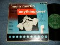 "MARY MARTIN - ANYTHING GOES BY COLE PORTER  (Ex/Ex) / 1950 US AMERICA ORIGINAL MONO  Used  10"" LP"