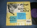 "BETTY HUTTON - A SQUARE IN THE SOCIAL CIRCLE (Ex+Ex+) / 1950 US AMERICA ORIGINAL MONO  Used  10"" LP"