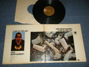 """画像1: WES MONTGOMERY- A DAY IN THE LIFE ( Ex+/Ex+++ Looks:MINT- )  / 1967 US AMERICA ORIGINAL 1st Press """"BROWN Label"""" STEREO  Used LP"""