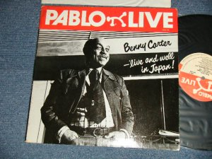 画像1: BENNY CARTER - LIVE AND WELL IN JAPAN! (Ex+++/MINT-)  / 1978 US AMERICA ORIGINAL  Used LP