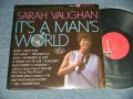 "SARAH VAUGHAN - IT'S A MAN'S WORLD (Ex+/E+ Looks:Ex-)  / 1967  US AMERICA ORIGINAL  1st Press ""RED Label""  STEREO Used LP"