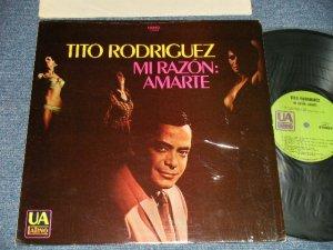 画像1: TITO RODRIGUEZ - MY RAZON:AMARTE (Ex+++/Ex++) / 1969 US AMERICA ORIGINAL Used LP