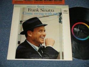 """画像1: FRANK SINATRA -  COME SWING WITH ME! ( Ex++/MINT- ) / 1961 US AMERICA 1st Press """"BLACK with RAINBOW and CAPITOL Logo at LEFT"""" Label STEREO Used LP"""