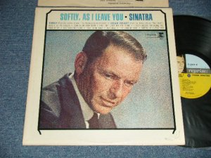 "画像1: FRANK SINATRA -  SOFTLY,AS I LEAVE YOU (Ex+/MINT- SWOFC) / 1964 US AMERICA  ORIGINAL ""TRIPLE COLOR CUSTOM LABEL""  MONO Used  LP"