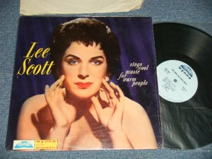 """画像1: LEE SCOTT - SINGS COOL MUSIC FOR WARM PEOPLE (Ex+++, Ex++/Ex+++) /    US AMERICA  ORIGINAL """"MONO""""   Used LP"""