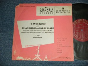 "画像1: DINAH SHORE andBUDDY CLARK - 'S WONDERFUL with (VG++/Ex++ Looks:Ex+ / 19548 US AMERICA ORIGINAL Used 10"" LP"