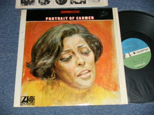 "画像1: CARMEN McRAE - PORTRAIT OF CARMEN (MINT-/Ex++ Looks:Ex+ )  /  1968 US AMERICA ORIGINAL 1st Press ""GREEN and BLUE Label""STEREO Used LP"