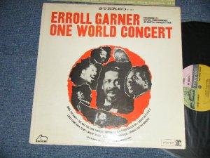 """画像1: ERROLL GARNER :- ONE WORLD CONCERT (Ex++/Ex+++ B-3,4,5:Ex) /  1963 US AMERICA ORIGINAL """"MULTI COLOR LABEL"""" STEREO Used  LP"""