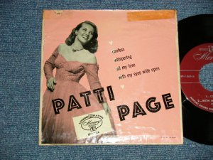 "画像1: PATTI PAGE - FAVORITE ON : Confess (VG+++/Ex+++)  / 1952 US ORIGINAL 4 TRACKS Used 7"" 45 rpm EP"