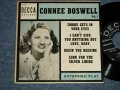 "CONNEE BOSWELL - VOL.1 (Ex/Ex+ STOL)  / 1953 US AMERICA ORIGINAL 4 TRACKS Used 7"" 45 rpm EP"