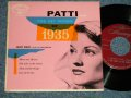 "PATTI PAGE - PATTI SINGS THE HIT SONG OF 1935 (Ex++/Ex+ / 1953 US ORIGINAL 4 TRACKS Used 7"" 45 rpm EP"