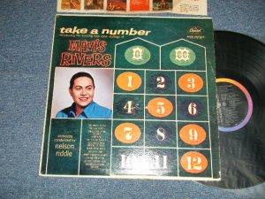 """画像1: MAVIS RIVERS - TAKE A NUMBER (Ex+/Ex+++ EDSP) / 1959 US AMERICA ORIGINAL 1st Press """"BLACK with RAINBOW & 'CAPITOL' Logo at LEFT Label"""" MONO Used LP"""
