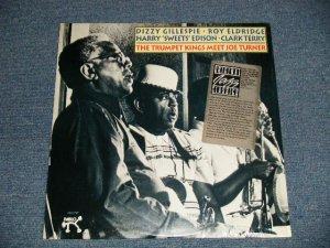 """画像1: Joe Turner  · Dizzy Gillespie · Roy Eldridge · Harry """"Sweets"""" Edison · Clark Terry - The Trumpet Kings Meet Joe Turner (SEALED) / 1990 US AMERICA Reissue """"BRAND NEW SEALED""""  LP"""
