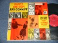 "Ray Conniff And His Orchestra And Chorus - Dance The Bop (With BOOKLET for DANCE STEPS) (Ex/Ex+++) / 1957 US AMERICA ORIGINAL 1st Press ""6-EYE'S LABEL"" MONO Used LP"