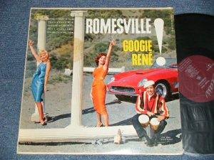 画像1: GOOGIE RENE - GOOGIE RENE PRESENTS ROMESVILLE (Ex++/Ex++ Looks:Ex  EDSP ) / 1959 US AMERICA ORIGINAL MONO Used LP