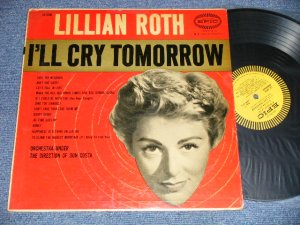 画像1: LILLIAN ROTH - I'LL CRY TOMORROW (Ex+/Ex+ EDSP) / 1957 US AMERICA ORIGINAL    MONO Used LP
