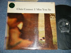 "画像1: CHRIS CONNOR - I MISS YOU SO (Ex++/Ex+++ STOL) / 1957 US AMERICA ORIGINAL ""BLACK with SILVER Print Label"" MONO Used  LP"