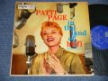 "PATTI  PAGE with The PETE RUGOLO ALL STARS - IN THE LAND OF HI-FI ( Ex/Ex+) / 1956 US AMERICA ORIGINAL ""BLUE Label"" ""YELLOW Jacket""  MONO Used LP"