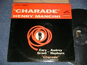 "画像1: OST/ HENRY MANCINI - CHARADE (Ex++/MINT- STPOBC)  / 1963 US AMERICA 1st Press ""SILVER RCA-VICTOR DYNAGROOVE at Bottom Label""  STEREO Used LP"