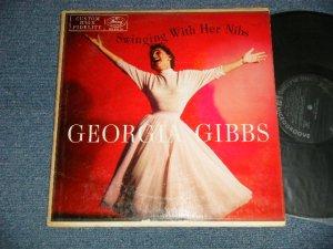 画像1: GEORGIA GIBBS - SWINGING WITH HER NIBS (Ex+/Ex+)  / 1956 US AMERICA ORIGINAL MONO Used LP