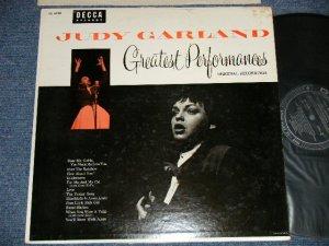 画像1: JUDY GARLAND - GREATEST PERFORMANCE (Ex+/Ex+++ EDSP) / 1956 US AMERICA ORIGINAL  MONO Used LP