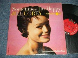 """画像1: JILL COREY -  SOMETIMES IN HAPPY (Ex/Ex++  A-5:Ex-  EDSP) / 1957  US AMERICA  1st Press """"6-EYE'S LABEL""""  MONO Used  LP"""