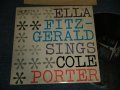 "ELLA FITZGERALD - SINGS COLE PORTER ( Ex/MINT-)  /  1961 US AMERICA ORIGINAL ""2nd Press Label"" MONO Used LP"