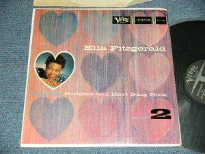 """画像1: ELLA FITZGERALD - SINGS THE RODGERS AND HART SONG BOOK VOL.2 ( Ex+/MINT-  EDSP)  /  1959 US AMERICA ORIGINAL """"1st Press Label"""" MONO Used LP"""