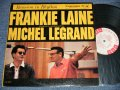 "FRANKIE LAINE with MICHEL LEGRAND - REUNION IN  RHYTHM (Ex+/MINT- SWOBC, EDSP) / 1959 US AMERICA ORIGINAL ""6 EYE'S LABEL"" ""WHITE LABEL PROMO"" MONO Used LP"