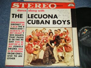 画像1: The Lecuona Cuban Boys  Featuring Candido ‎- Dance Along With The Lecuona Cuban Boys (Ex+/Ex++ Looks:Ex+++ WOFC, EDSP) / 1959 US AMERICA ORIGINAL STEREO Used LP