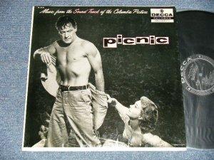 """画像1: ost """"PICNIC"""" Morris Stoloff Conducting The Columbia Pictures Orchestra - Music From The Sound Track Of The Columbia Picture """"Picnic"""" (Ex++/MINT-  EDSP) / 1960 US AMERICA ORIGINAL MONO Used LP"""