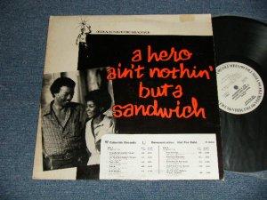 """画像1: ost Hubert Laws Group -  A Hero Ain't Nothin' But A Sandwich (Original Motion Picture Soundtrack) (Ex+/Ex+++ Looks:MINT-  STOFC, EDSP, STOBC) / 1978 US AMERICA  ORIGINAL """"WHITE LABEL PROMO"""" Used LP"""