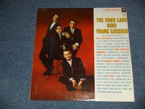"""画像1: THE FOUR LADS  -SING FRANK LOESSER (Ex++/MINT-)/ 1957 US AMERICA ORIGINAL """"WHITE LABEL PROMO"""" 1st Press """"6 EYE'S Label""""  MONO Used LP"""
