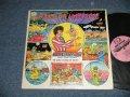 ABBIE HOFFMAN - WAKE UP, AMERICA (Comedy)  (Ex+/Ex++) / 1971 US AMERICA ORIGINAL Used LP